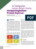 Elemen Campuran Pemasaran Dalam Usaha Mempertingkatkan Produk Koperasi (Sharing Material)