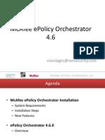 Mcaffee E-policy Orchestrator