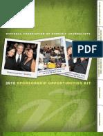 2010 NAHJ Sponsorship Opportunities Kit