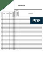 Formato - Cuadro de Inventario