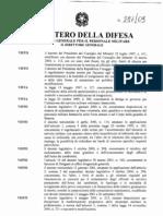 2010 Bando Concorso Stabilizzazione Anno 2009 Ufficiali Ferma Prefissata Carabinieri