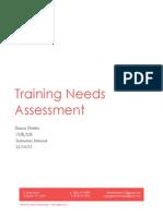 101straining needs assessment
