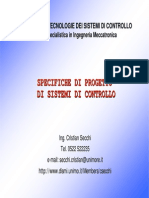 ITSC05-Specifiche Di Progetto Di Sistemi Di Controllo