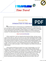 A Course in Time Travel