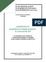 Conferinta Azerbaidjan 17 Martie 2014 Ora 16