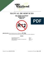 Manual Heladera ARB 221