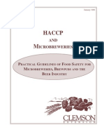 HACCP AND MICROBREWERIES