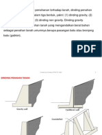 Dinding Penahan Tanah (Analisis)