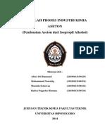 makalah PIK aseton, chemical engineering