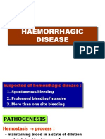 (14) Hemorrhagic Disease
