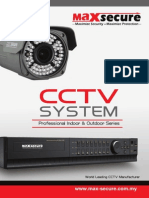 Maxsecure Analog CCTV Booklet