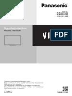Panasonic TX-P50ST50E UserManual