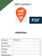 Proposal TM WiFi