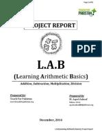 Project L.A.B Report