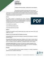Convocatoria MACA - BRACOL 2015-1 Para Estudiantes de Pregrado