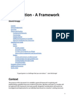 Gam if Ication Framework