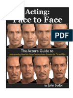 Acting Face to Face by John Sudol