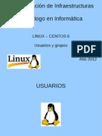 Usuarios Grupos Linux