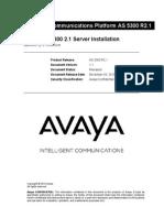 102.1.1_AS5300_2.1-Server_Installation