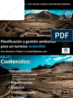 Planificación, gestión ambiental y turismo sostenible