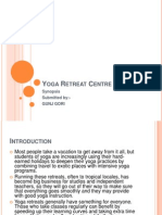 Yoga Retreat Centre Ppt