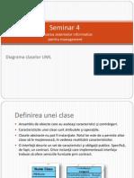 Seminar 4 - Diagrama Claselor