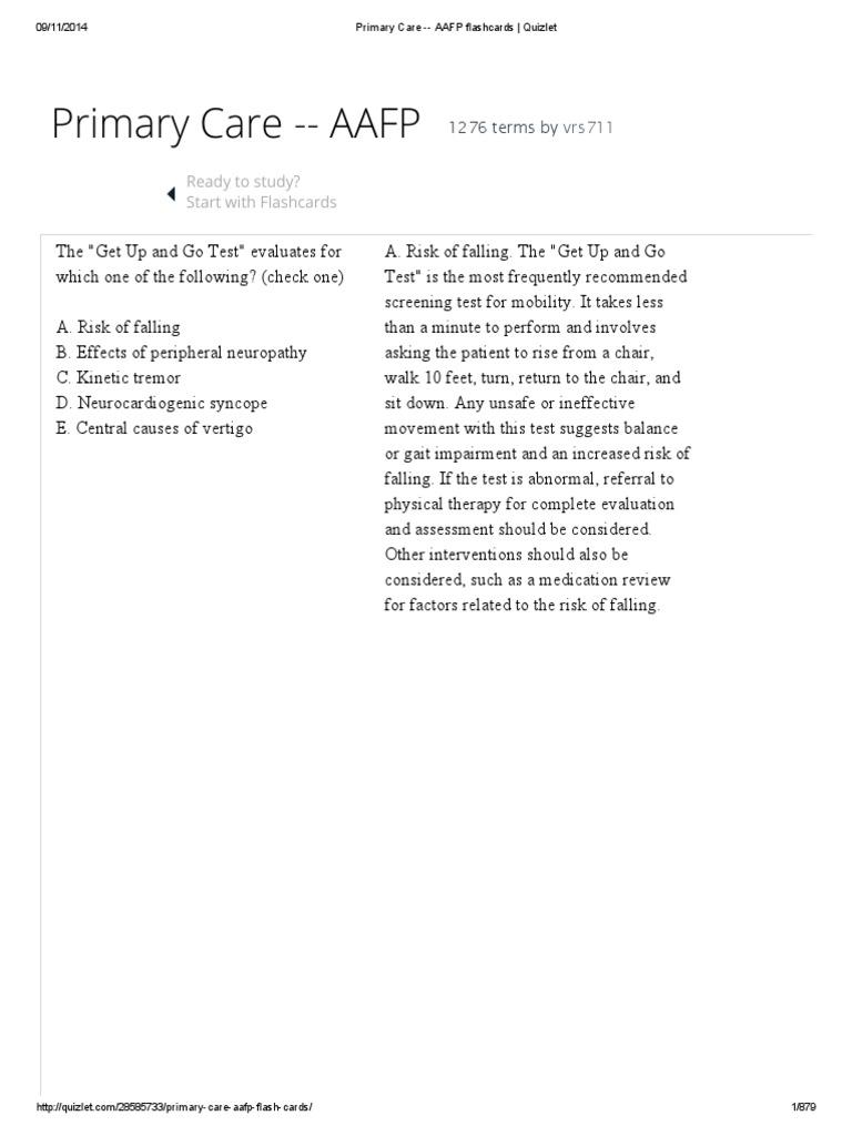 Primary Care -- AAFP flashcards _ Quizlet pdf | Coeliac