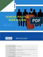 Ires Romania Politica Dupa Alegerile Prezidentiale