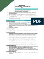 Protocolo fluidoterapia en urgencias