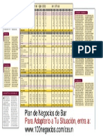 Plan Negocio Bar