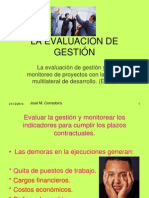 Diagnóstico y Evaluación de Gestión.-2