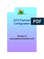 SAP ACH Configuration