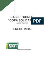 Bases Copa Solidaria -Enero2015-