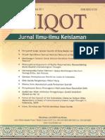 Miqot Vol. XXXV. No. 2 Juli-Desember 2011