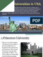 Top 10 U.S. Universities