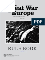 Great War in Europe Rules