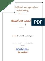 De hidjaab (sluier)... een symbool van onderdrukking