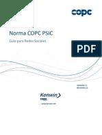 COPC 2012 Versión 5.1 Guía Redes Sociales - 3X Jun 13_esp