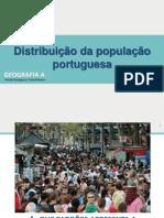 Distribuição  População Portuguesa