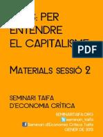 TAIFA Per Entendre El Capitalisme Sessió 2