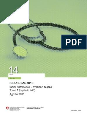 codice icd 10 per il carcinoma prostatico in remissione