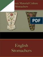 Female Dress - Stomachers