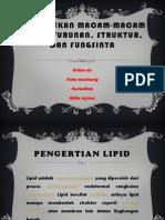 Menjelaskan macam-macam lipida turunan, struktur, dan.pptx