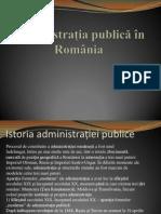 Sistemul Admninistrativ Al României