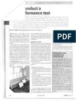 Conduct Perf Test - Power Mag