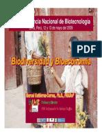 Biodiversidad y Bioeconomia Agro
