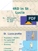 NHRD in St . Lucia2