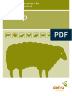 Defra Sheep Welfare