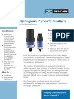Hydroguard Hybrid BreathersDC HG 1 en DC HG 8