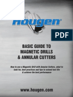 Hougen Mag Drill & Annular Cutter Guide